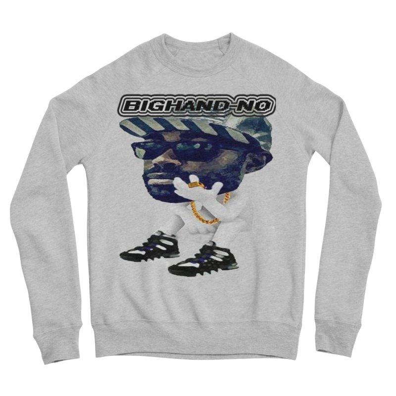 BIGHAND CHARACTER Men's Sponge Fleece Sweatshirt by BIGHAND-NO's Artist Shop