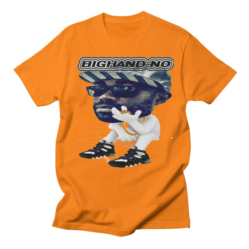 BIGHAND CHARACTER Women's Regular Unisex T-Shirt by BIGHAND-NO's Artist Shop