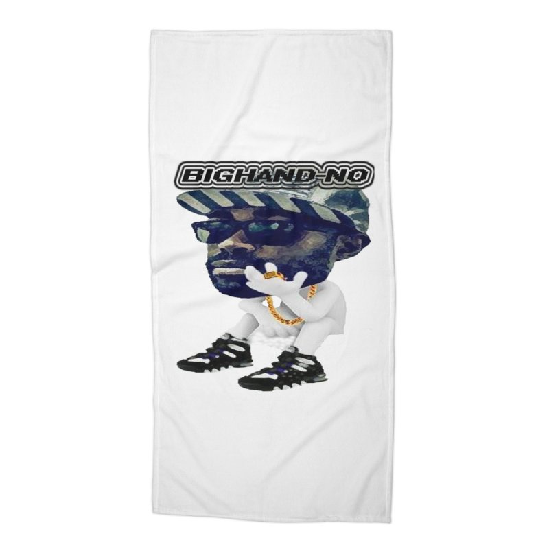 BIGHAND CHARACTER Accessories Beach Towel by BIGHAND-NO's Artist Shop