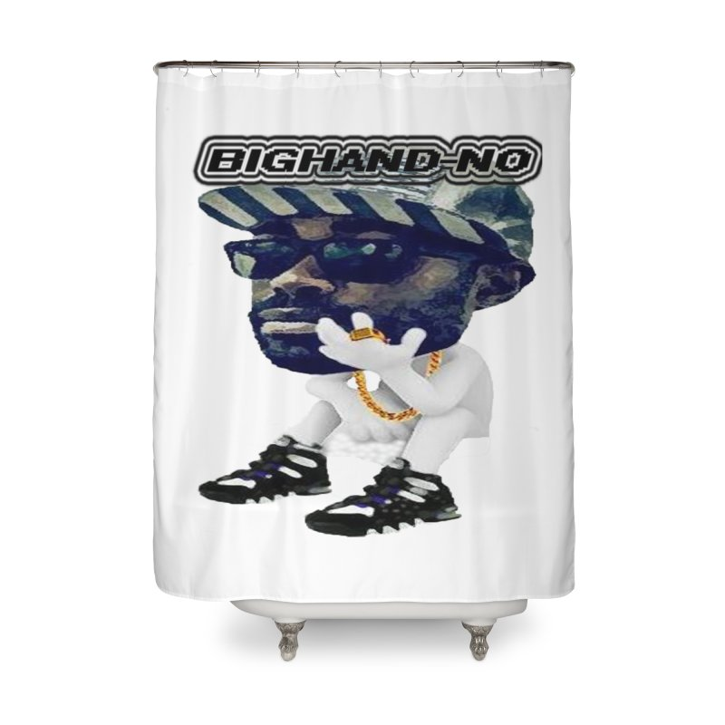 BIGHAND CHARACTER Home Shower Curtain by BIGHAND-NO's Artist Shop