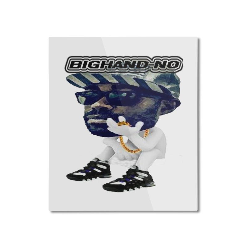 BIGHAND CHARACTER Home Mounted Aluminum Print by BIGHAND-NO's Artist Shop