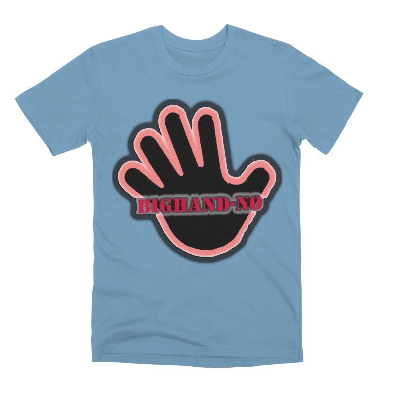 BIGHAND SMACK Men's T-Shirt by BIGHAND-NO's Artist Shop