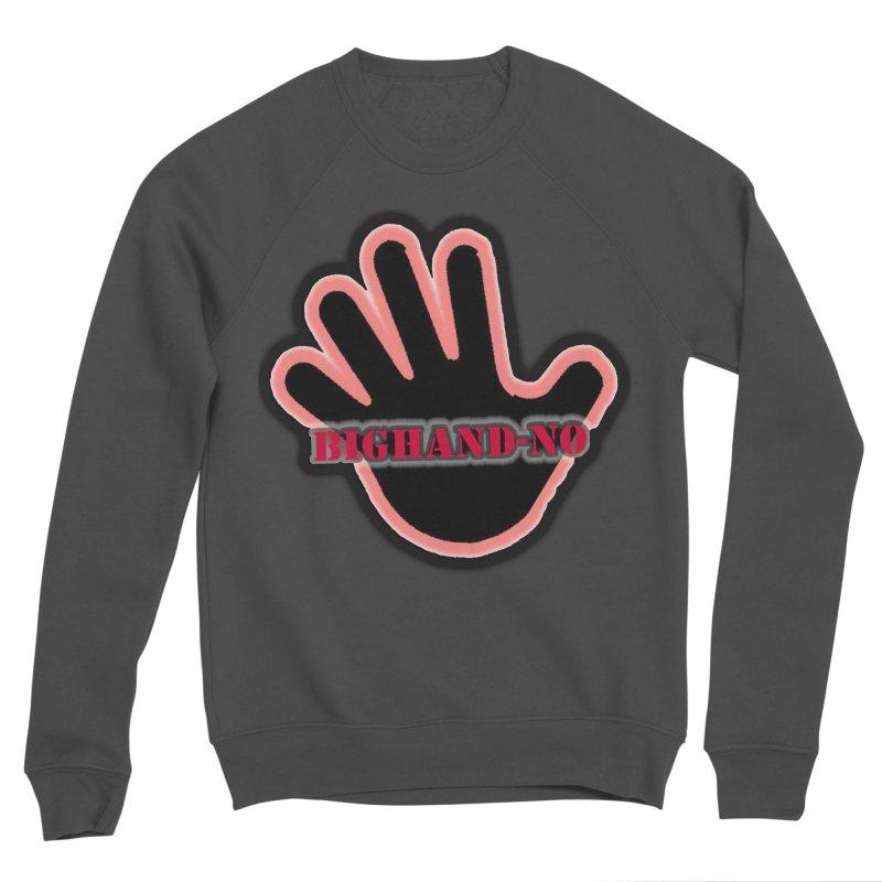 BIGHAND SMACK Women's Sponge Fleece Sweatshirt by BIGHAND-NO's Artist Shop
