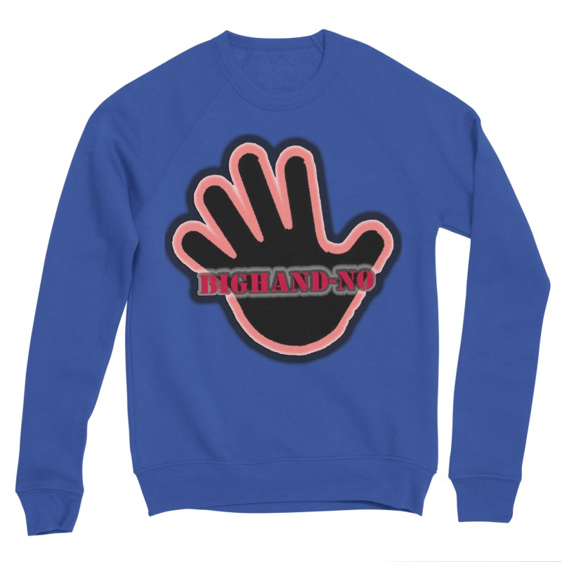 BIGHAND SMACK Men's Sweatshirt by BIGHAND-NO's Artist Shop