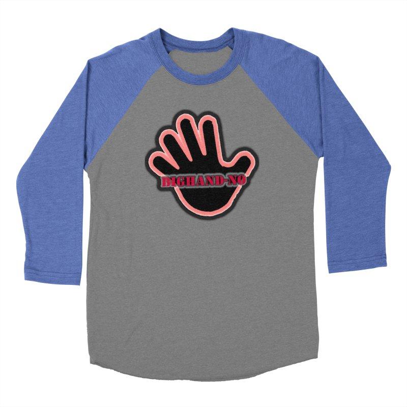 BIGHAND SMACK Men's Baseball Triblend Longsleeve T-Shirt by BIGHAND-NO's Artist Shop