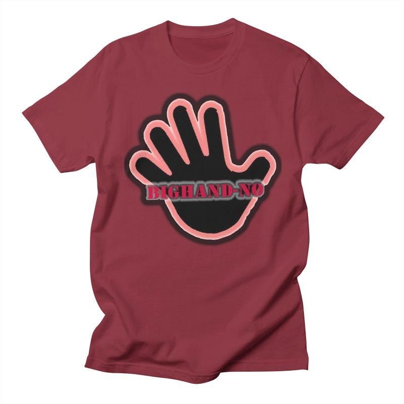 BIGHAND SMACK Men's Regular T-Shirt by BIGHAND-NO's Artist Shop