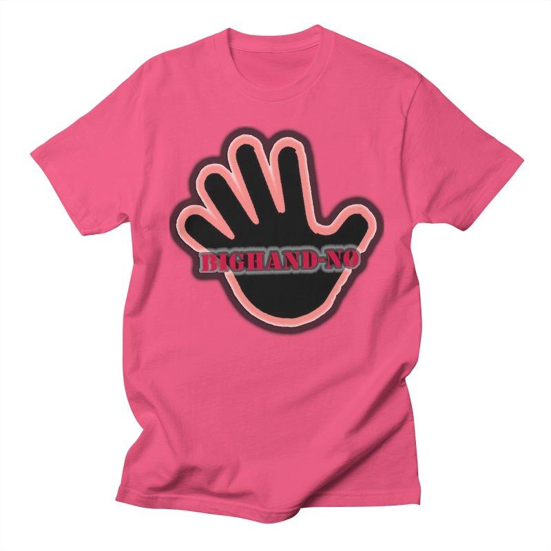 BIGHAND SMACK Women's Regular Unisex T-Shirt by BIGHAND-NO's Artist Shop