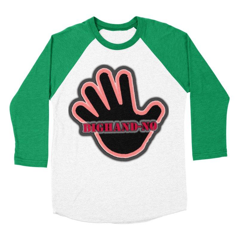 BIGHAND SMACK Women's Baseball Triblend Longsleeve T-Shirt by BIGHAND-NO's Artist Shop