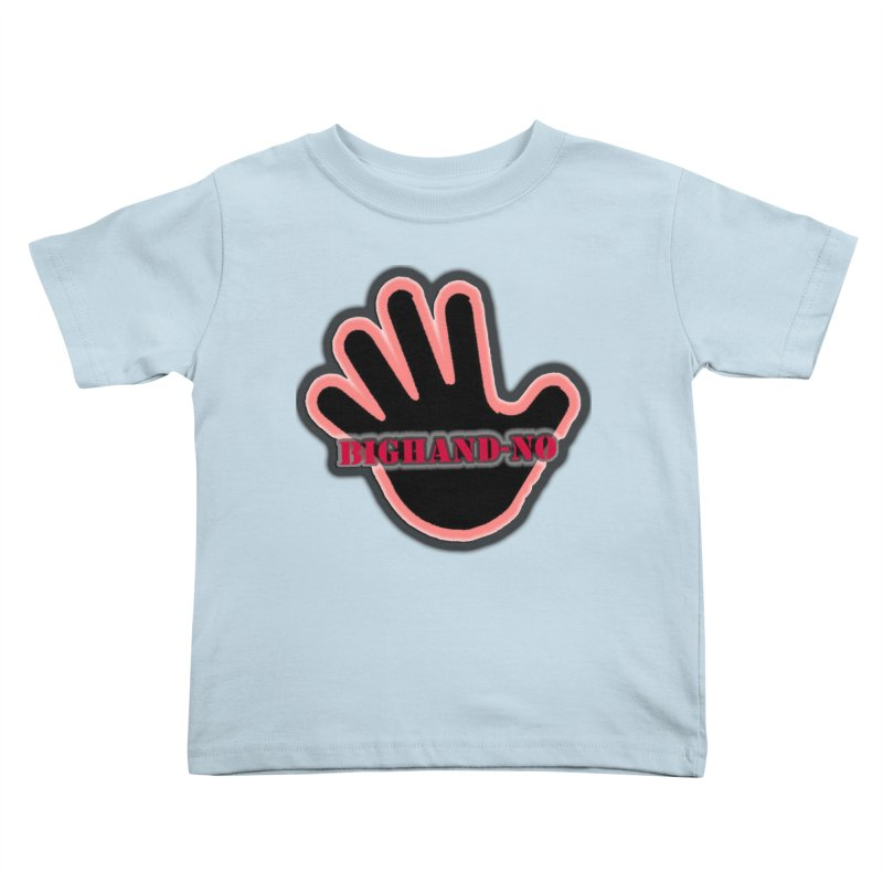 BIGHAND SMACK Kids Toddler T-Shirt by BIGHAND-NO's Artist Shop