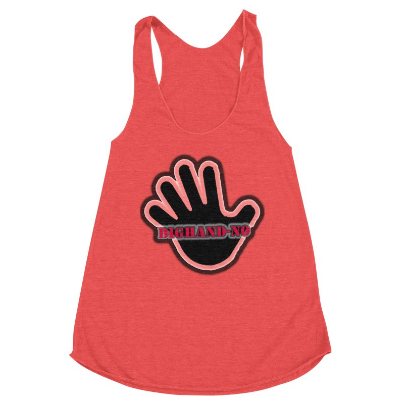 BIGHAND SMACK Women's Tank by BIGHAND-NO's Artist Shop