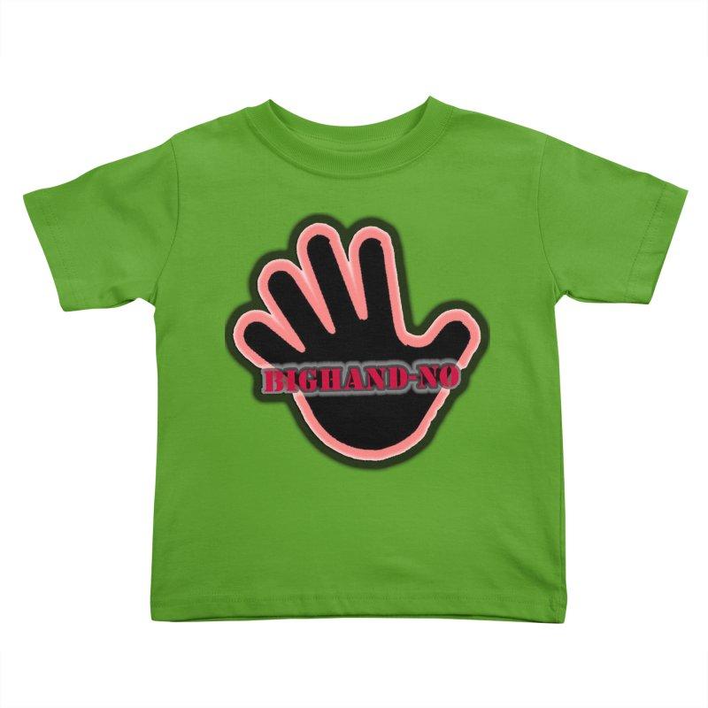 BIGHAND SMACK Kids Toddler T-Shirt by BIGHAND-NO's Artist Shop