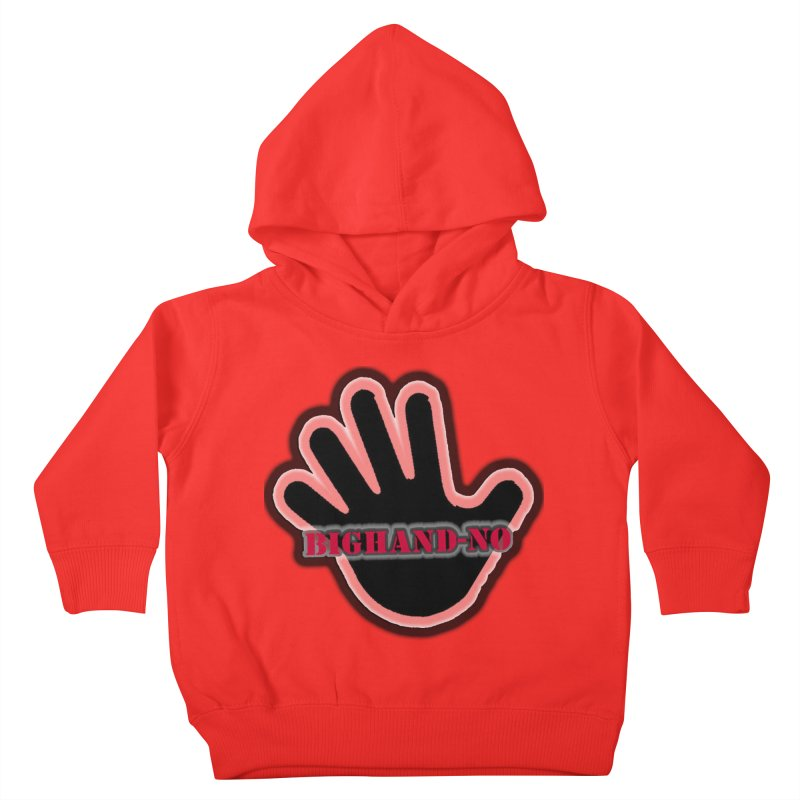 BIGHAND SMACK Kids Toddler Pullover Hoody by BIGHAND-NO's Artist Shop