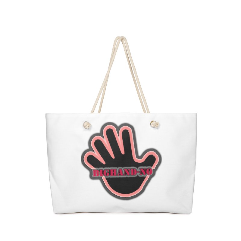 BIGHAND SMACK Accessories Bag by BIGHAND-NO's Artist Shop