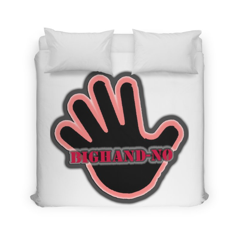BIGHAND SMACK Home Duvet by BIGHAND-NO's Artist Shop