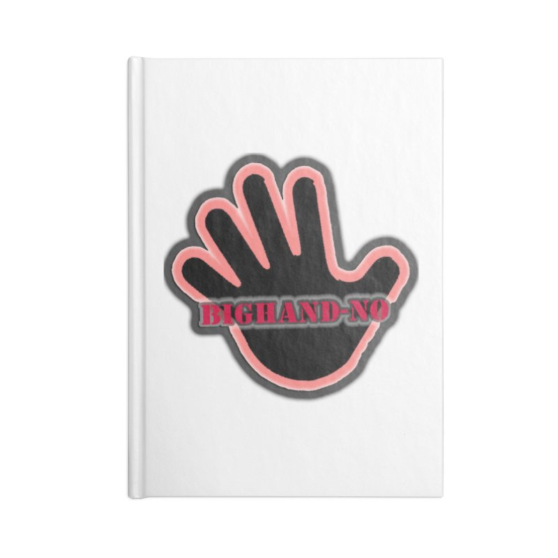 BIGHAND SMACK Accessories Notebook by BIGHAND-NO's Artist Shop