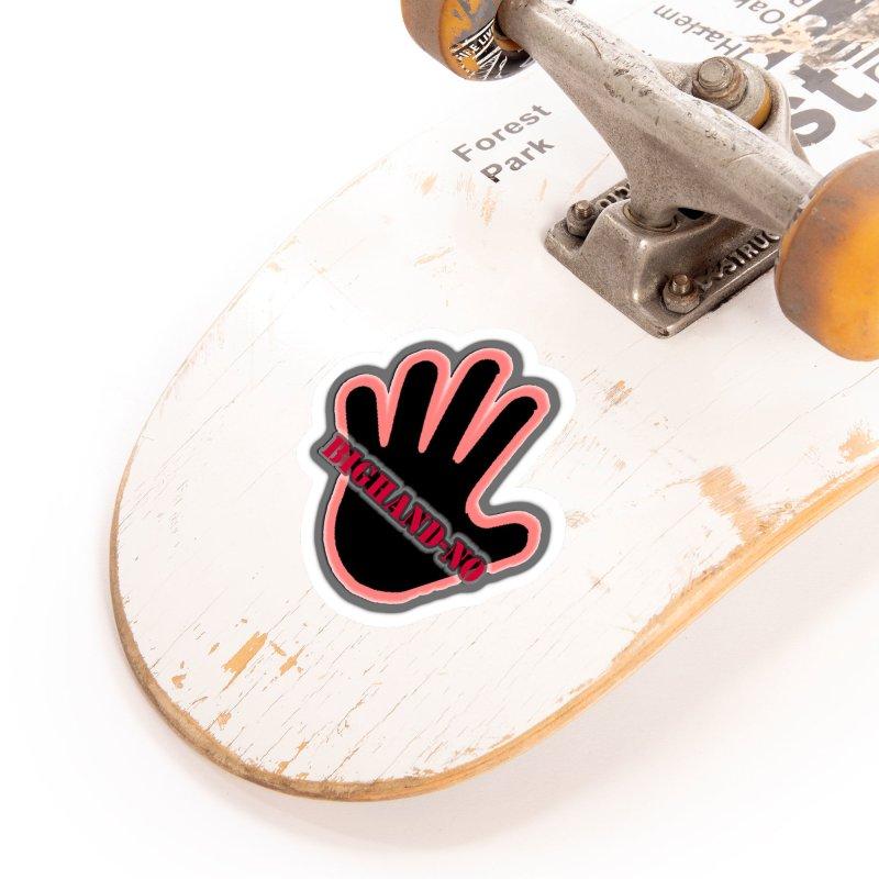 BIGHAND SMACK Accessories Sticker by BIGHAND-NO's Artist Shop