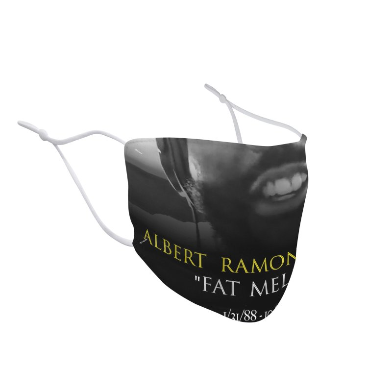 R.I.P. FAT MELLO Accessories Face Mask by BIGHAND-NO's Artist Shop