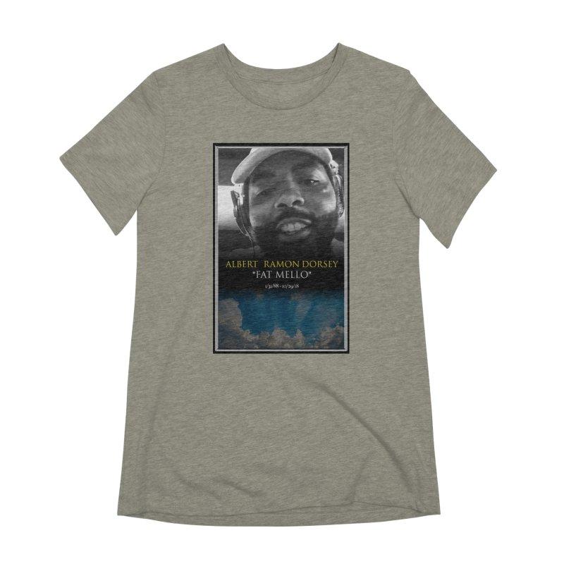 R.I.P. FAT MELLO Women's Extra Soft T-Shirt by BIGHAND-NO's Artist Shop