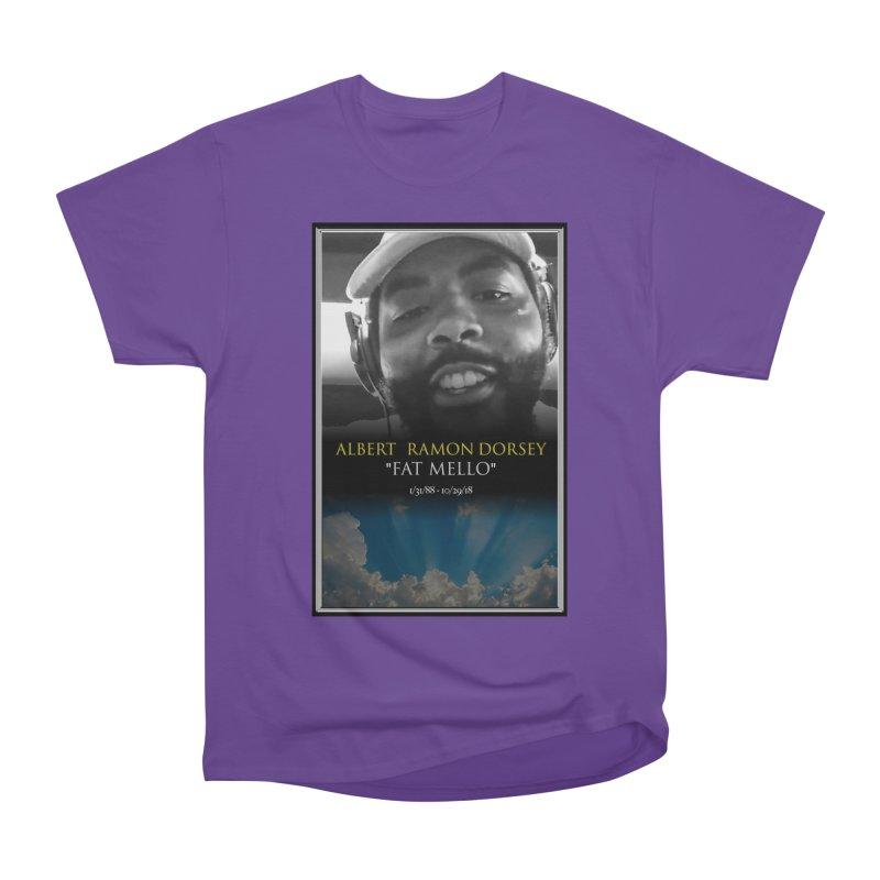 R.I.P. FAT MELLO Men's T-Shirt by BIGHAND-NO's Artist Shop