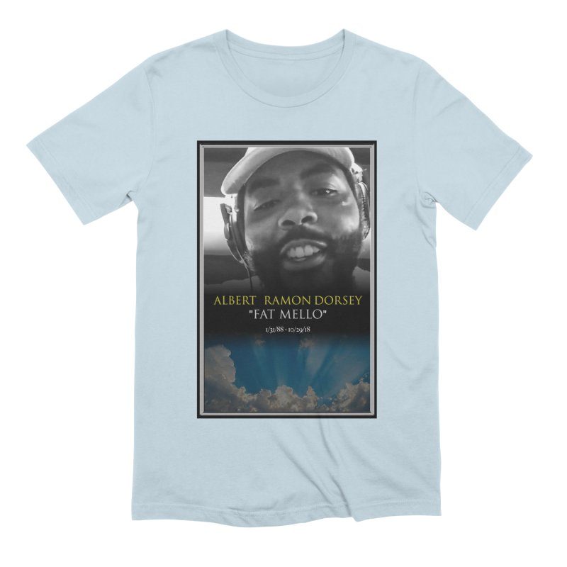 R.I.P. FAT MELLO Men's Extra Soft T-Shirt by BIGHAND-NO's Artist Shop