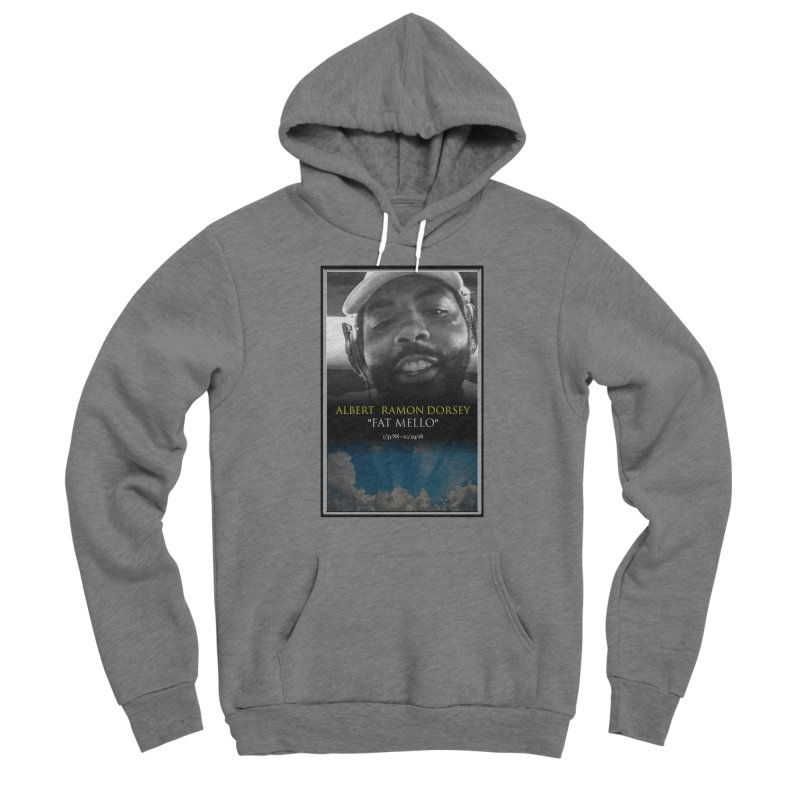 R.I.P. FAT MELLO Men's Pullover Hoody by BIGHAND-NO's Artist Shop