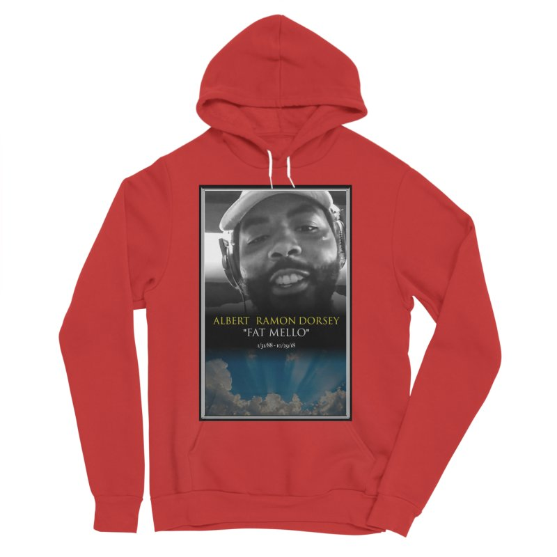 R.I.P. FAT MELLO Women's Pullover Hoody by BIGHAND-NO's Artist Shop