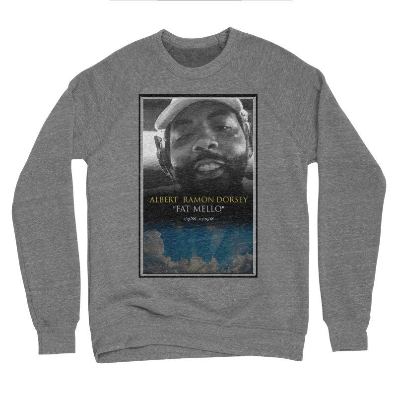 R.I.P. FAT MELLO Men's Sponge Fleece Sweatshirt by BIGHAND-NO's Artist Shop