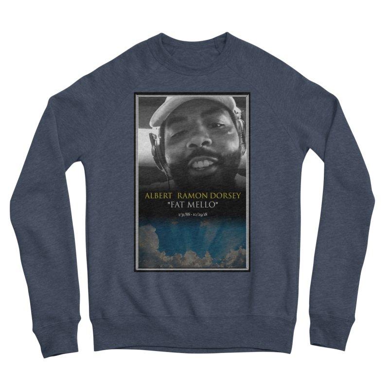 R.I.P. FAT MELLO Women's Sponge Fleece Sweatshirt by BIGHAND-NO's Artist Shop