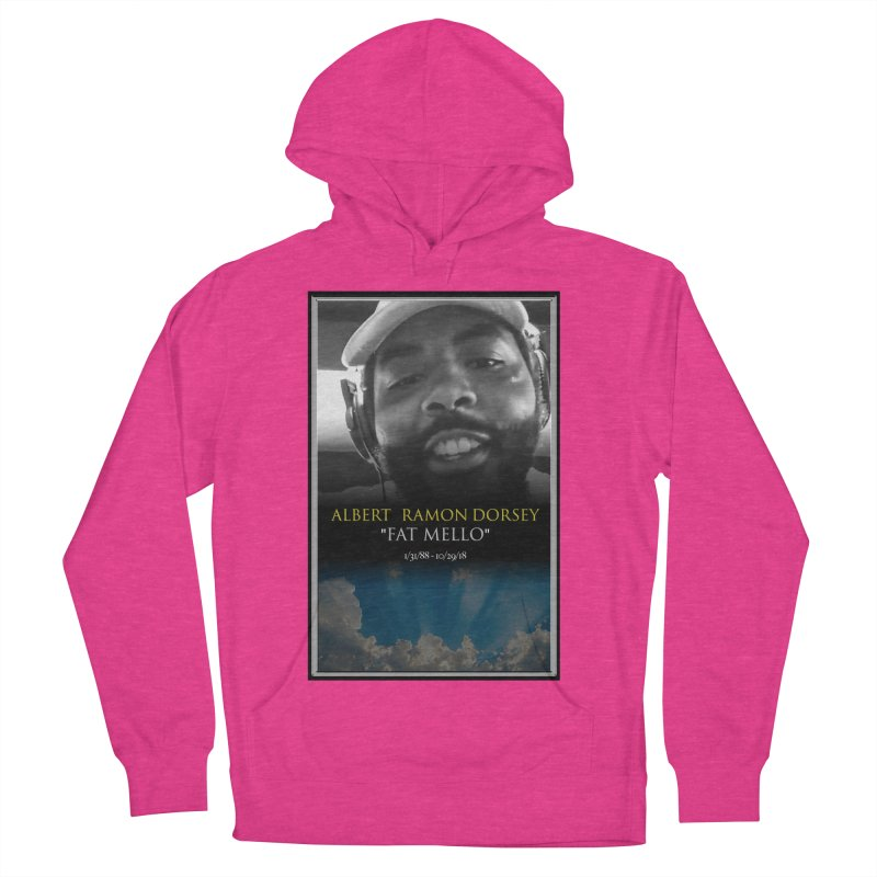 R.I.P. FAT MELLO Women's French Terry Pullover Hoody by BIGHAND-NO's Artist Shop