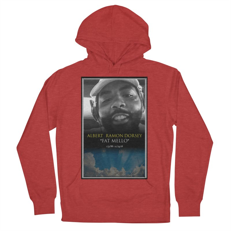 R.I.P. FAT MELLO Men's French Terry Pullover Hoody by BIGHAND-NO's Artist Shop