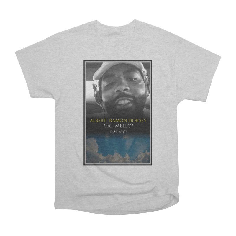 R.I.P. FAT MELLO Men's T-Shirt by BIGHAND-NO's Artist Shop