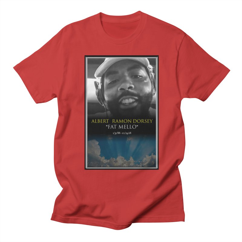 R.I.P. FAT MELLO Men's Regular T-Shirt by BIGHAND-NO's Artist Shop