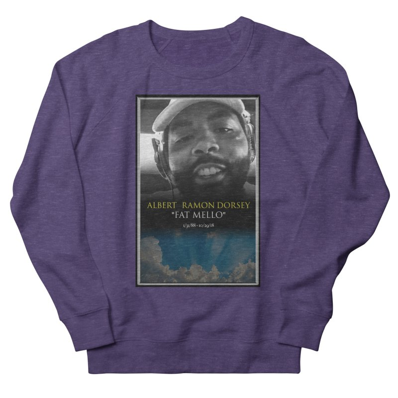 R.I.P. FAT MELLO Women's French Terry Sweatshirt by BIGHAND-NO's Artist Shop