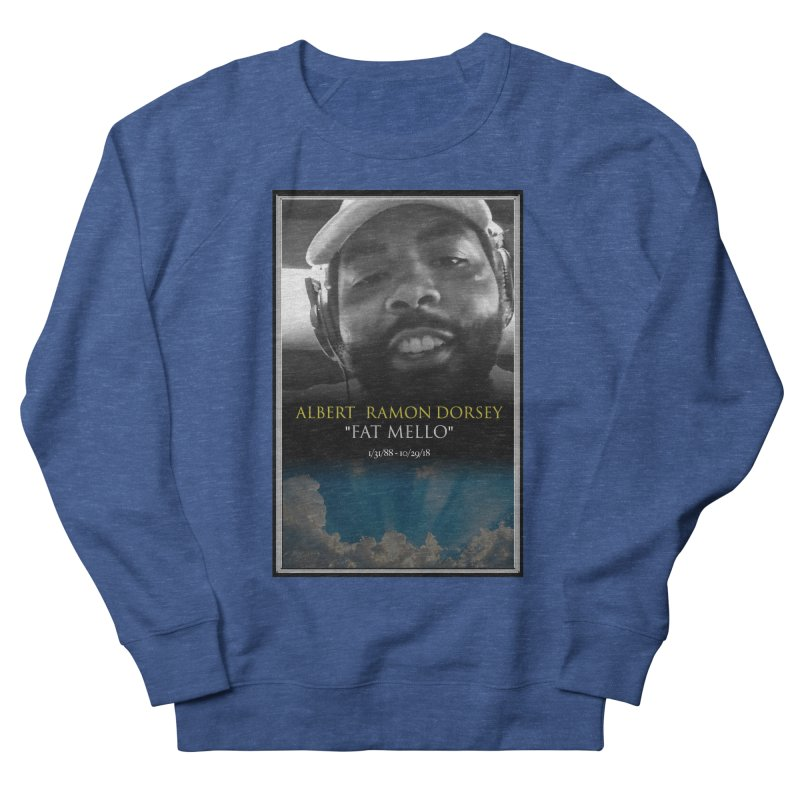 R.I.P. FAT MELLO Men's French Terry Sweatshirt by BIGHAND-NO's Artist Shop