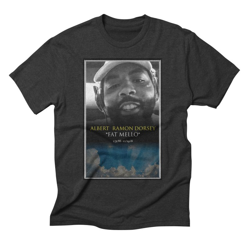 R.I.P. FAT MELLO Men's Triblend T-Shirt by BIGHAND-NO's Artist Shop