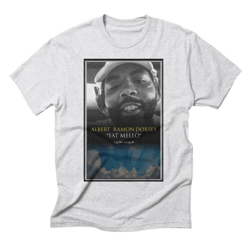 R.I.P. FAT MELLO Men's Triblend T-Shirt by BIGHAND-NO's Artist Shop