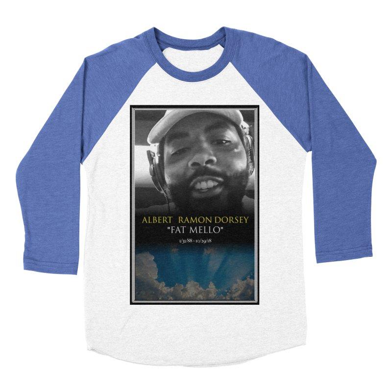 R.I.P. FAT MELLO Women's Baseball Triblend Longsleeve T-Shirt by BIGHAND-NO's Artist Shop