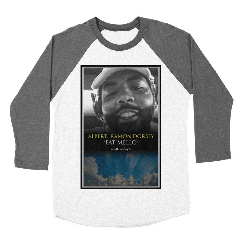 R.I.P. FAT MELLO Men's Baseball Triblend Longsleeve T-Shirt by BIGHAND-NO's Artist Shop