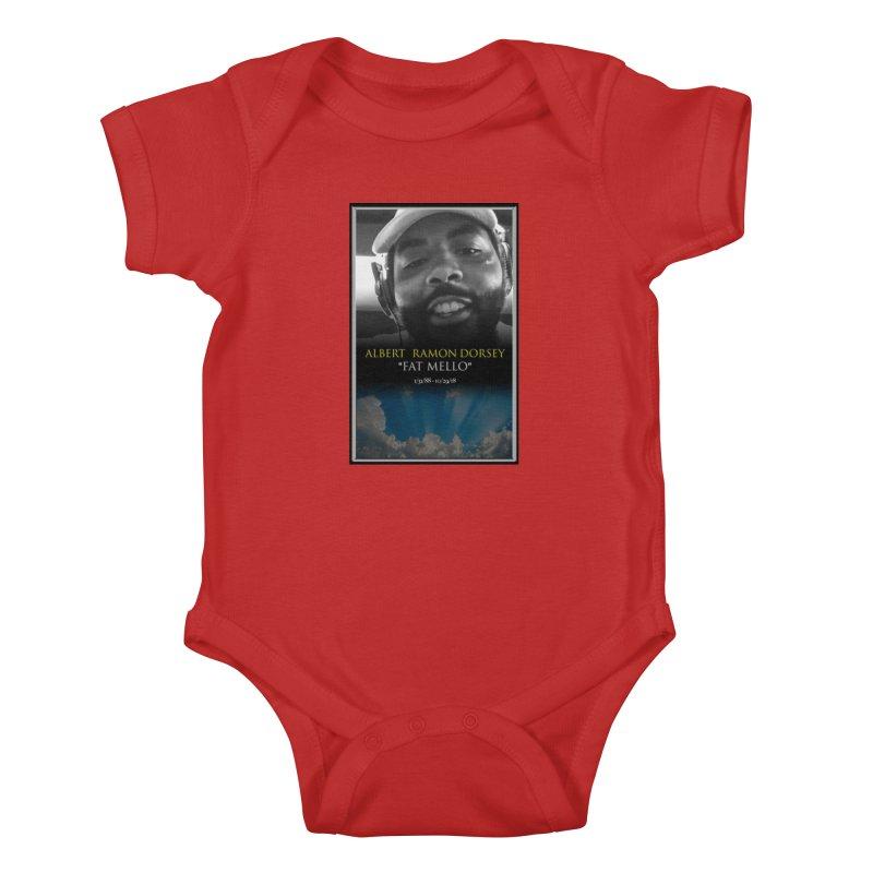 R.I.P. FAT MELLO Kids Baby Bodysuit by BIGHAND-NO's Artist Shop