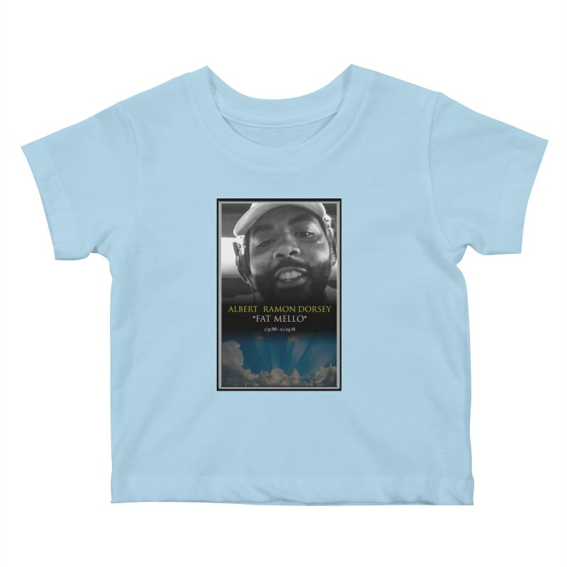 R.I.P. FAT MELLO Kids Baby T-Shirt by BIGHAND-NO's Artist Shop