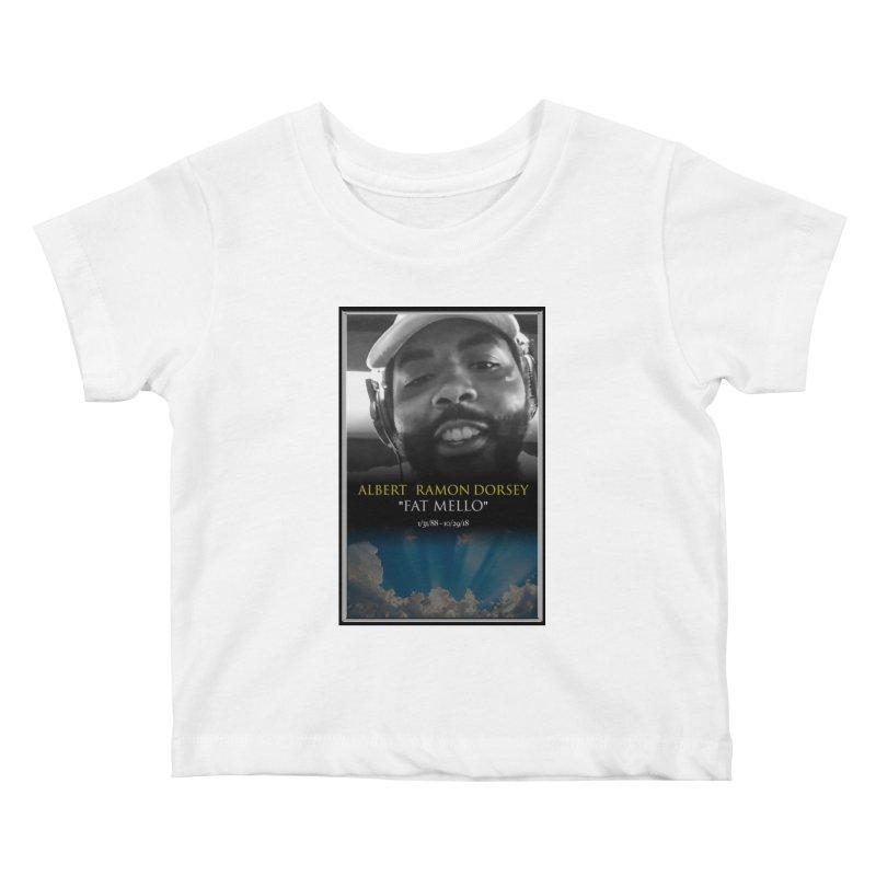 R.I.P. FAT MELLO Kids Baby T-Shirt by BIGHAND-NO's Artist Shop