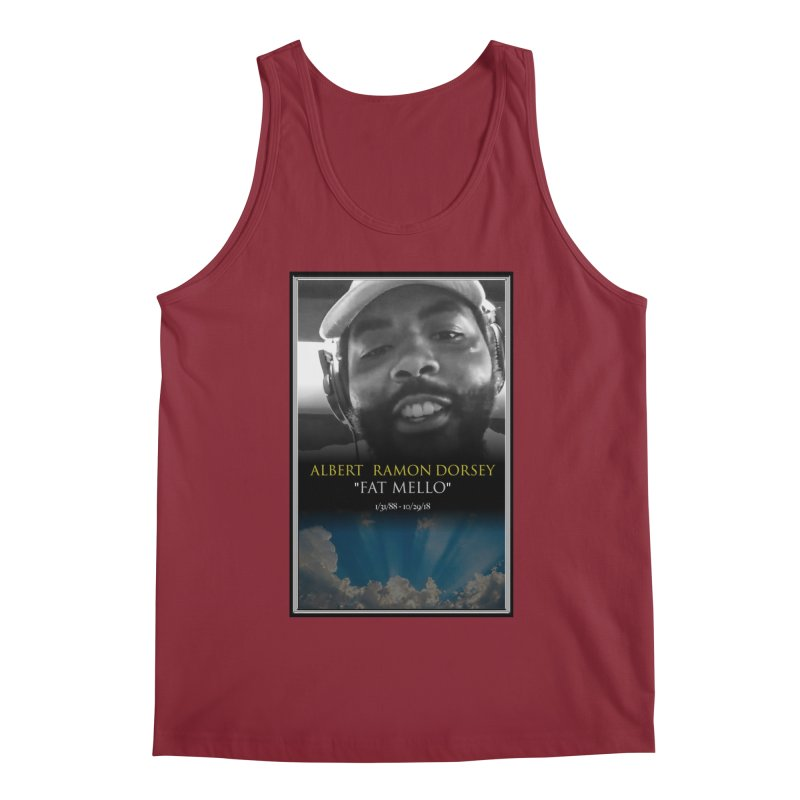 R.I.P. FAT MELLO Men's Regular Tank by BIGHAND-NO's Artist Shop