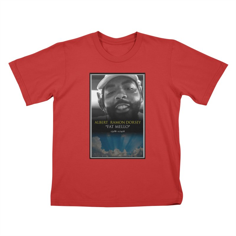 R.I.P. FAT MELLO Kids T-Shirt by BIGHAND-NO's Artist Shop