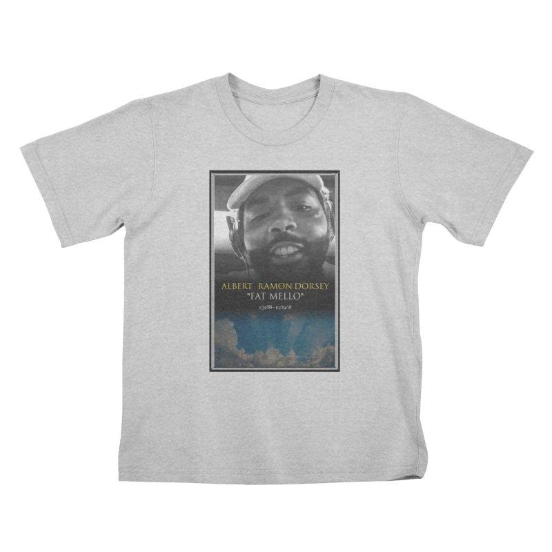 R.I.P. FAT MELLO Kids T-Shirt by BIGHAND-NO's Artist Shop