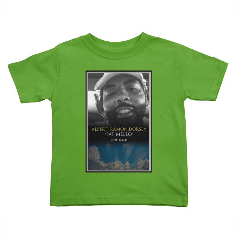 R.I.P. FAT MELLO Kids Toddler T-Shirt by BIGHAND-NO's Artist Shop