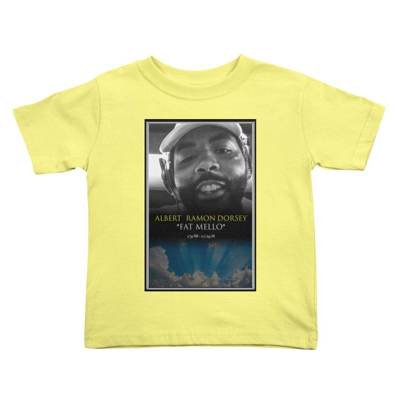 R.I.P. FAT MELLO Kids Toddler T-Shirt by BIGHAND-NO's Artist Shop