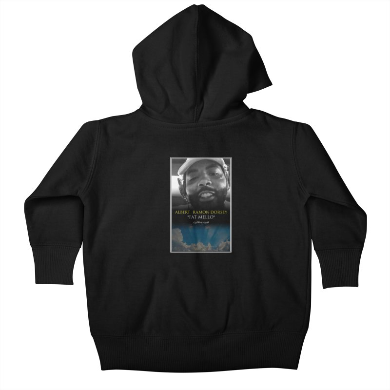 R.I.P. FAT MELLO Kids Baby Zip-Up Hoody by BIGHAND-NO's Artist Shop