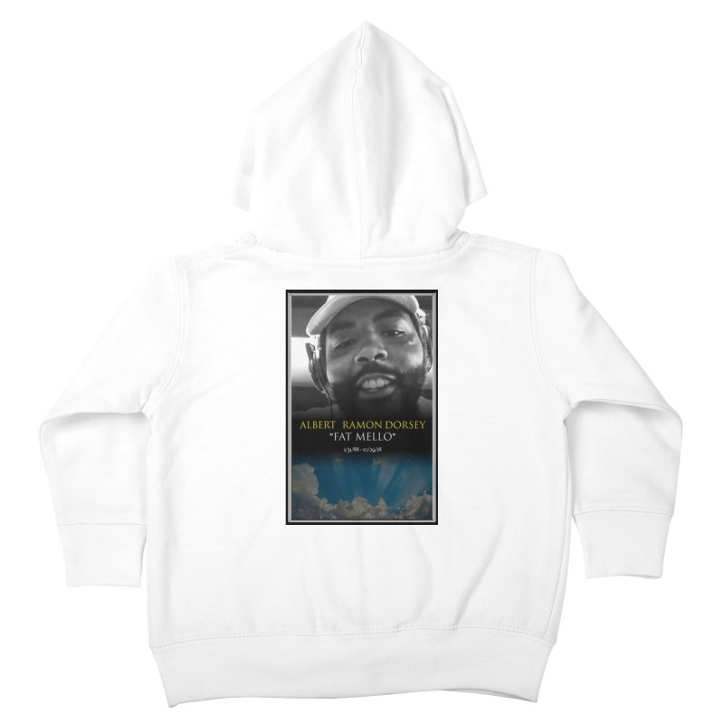 R.I.P. FAT MELLO Kids Toddler Zip-Up Hoody by BIGHAND-NO's Artist Shop