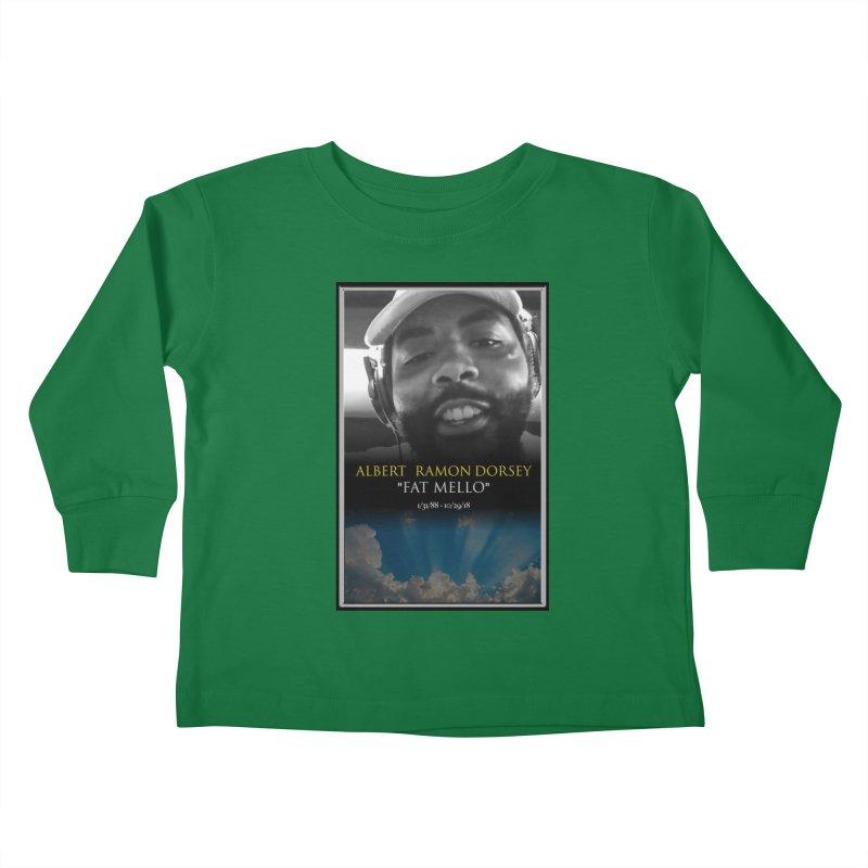 R.I.P. FAT MELLO Kids Toddler Longsleeve T-Shirt by BIGHAND-NO's Artist Shop
