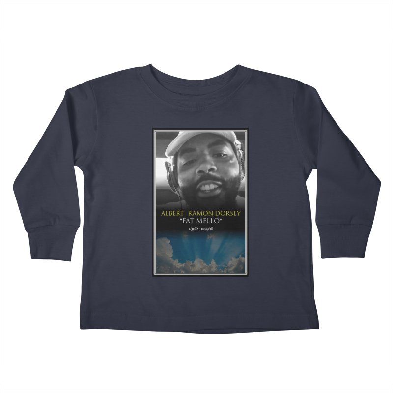 R.I.P. FAT MELLO Kids Toddler Longsleeve T-Shirt by BIGHAND-NO's Artist Shop
